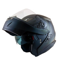 MT Flux Flip Front Helmet - Matt Black