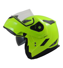 MT Flux Flip Front Helmet - Flu Yellow