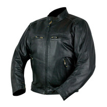 ARMR Moto Hiro Leather Jacket - Black