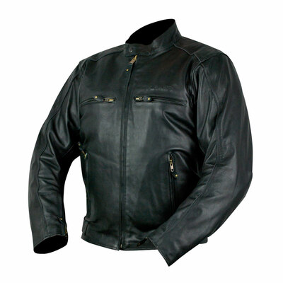 ARMR Moto Hiro Leather Jacket - Black
