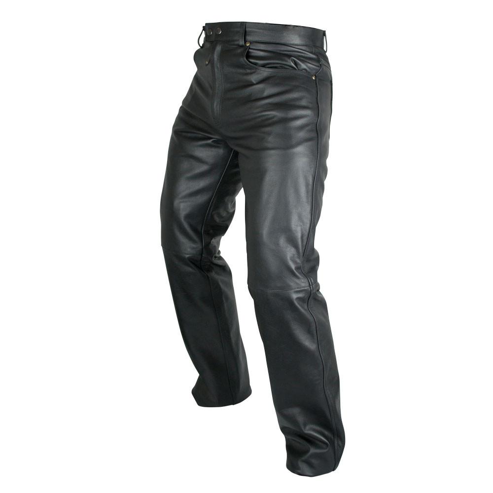 e3f6b56a55 ARMR Moto Kenji Leather Jeans - Black | Bolt Bikes - Free UK Delivery