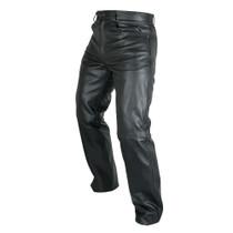 ARMR Moto Kenji Leather Jeans - Black