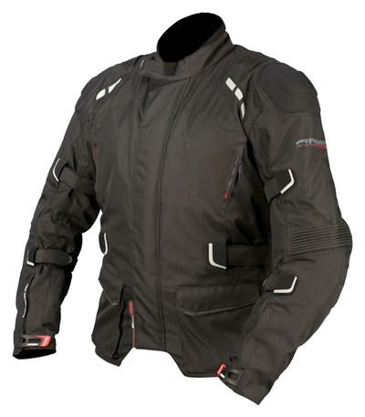 ARMR Moto Kumaji Textile Motorcycle Jacket - Black