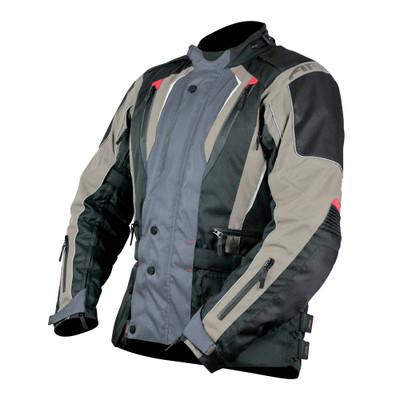 ARMR Moto Tottori 2 Textile Motorcycle Jacket - Grey