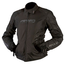 ARMR Moto Kami Ladies Textile Motorcycle Jacket - Black