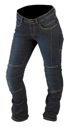 ARMR Moto L279 Ladies Kevlar Jeans (Stretch) - Blue