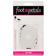 Sole Stopperz - Black and Clear Shoe Treads in Packaging - by Foot Petals