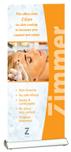 Zimmer Cryo Waiting Room Roll-Up Banner
