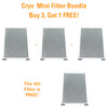 Cryo Mini Filter Bundle - Buy 3 Get 1 FREE!