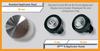 Z Wave Q HP Mini Q 6mm Applicator Head - Size/shape comparison to 39mm & 15mm applicator heads.