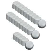 Silicone Cap Set of 25 for Z Wave Q HP Mini Q Applicator Heads.
