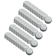 Silicone Cap Set of 50 for Z Wave Q HP Mini Q Applicator Heads.
