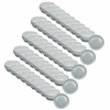 Silicone Caps shown for Z Wave Q 39mm Applicator Head. Set of 50 included with this product.