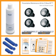 Preventative Maintenance Kit for Z Wave HP Mini Hand Piece Set for Z Wave Pro