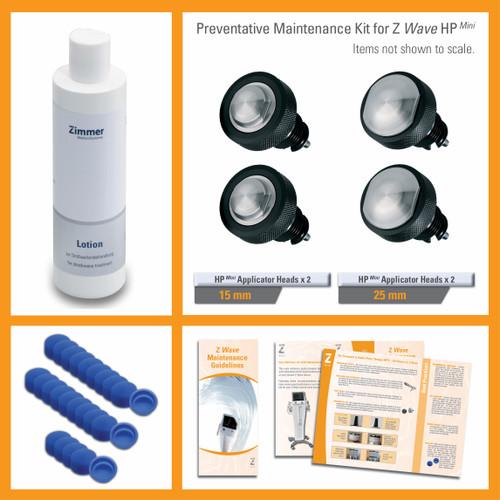 Preventative Maintenance Kit for Z Wave HP Mini Hand Piece Set for Z Wave Pro