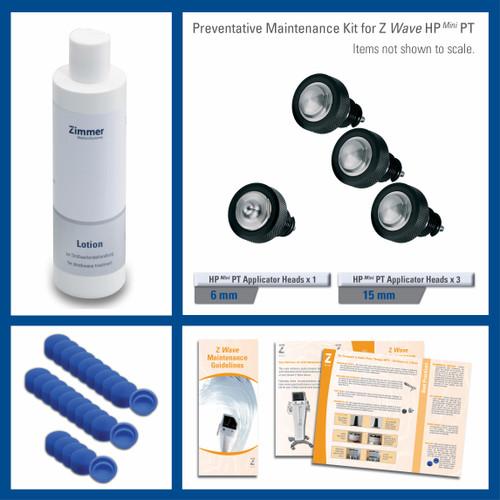 Preventative Maintenance Kit for Z Wave HP Mini PT Hand Piece Set for Z Wave Pro and enPuls Devices