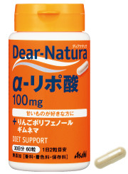 Asahi Dear Natura Alpha Lipoic Acid With Apple Polyphenols