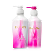 NEW PACKAGING! Shiseido Tsubaki Volume Touch Shampoo & Conditioner Set [PURPLE]
