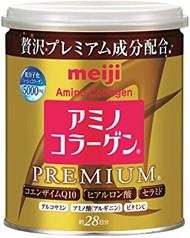 [NEW PACKAGING] Meiji Amino Collagen Premium in Tin Can 200g