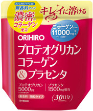 Orihiro Japan Proteoglycan Collagen & Placenta Powder Supplement 180g for 30 Days