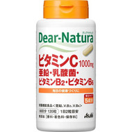 Asahi Dear Natura Vitamin C, zinc-lactic acid, vitamin B2 and Vitamin B6 (60 days supply)