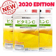 Daiso Japan Vitamin C Tablets 20days supply