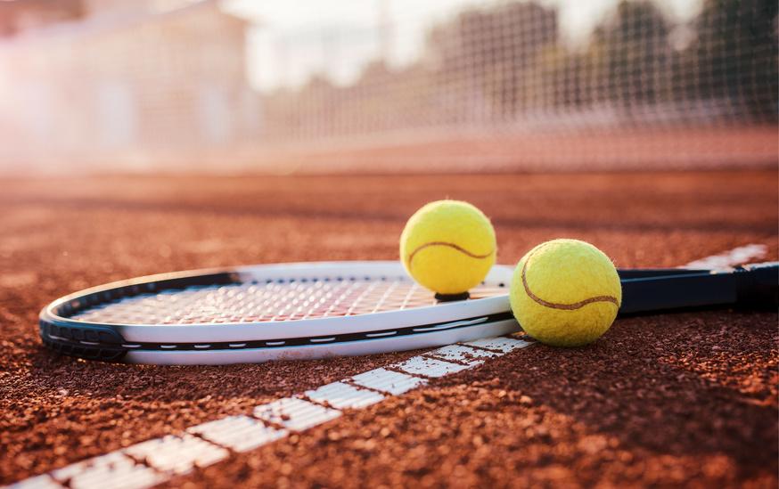 tennis court materials