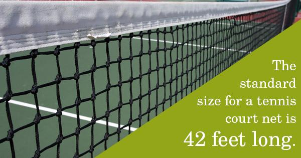 tennis court nets