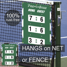 Turn-a-Score Tennis Scorekeeper by Oncourt Offcourt includes shipping