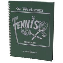 Tennis Scorekeeper Book