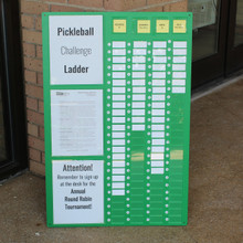 Pickleball Challange Ladder by OnCourt OffCourt