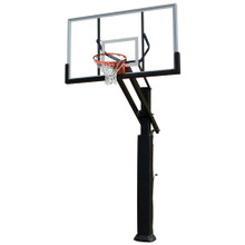 GRIZZLY Adjustable Basketball System with includes shipping