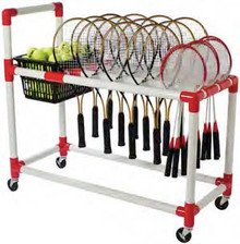 Multi Sport Racquet Cart includes shipping