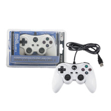 PS2 Analog Rumble Controller Pad - White (TTX Tech)