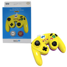 Wii U Fight Pad Wired Classic Controller - Wario (PDP) 085-006-WA