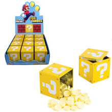 Question Mark Box Mario Coin Candies 12 Pcs. Set (Boston America)