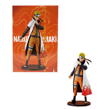 "Naruto Uzumaki 4th Hokage Coat Version - Naruto Shippuden 10"" Figure"