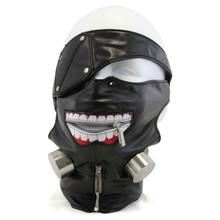 Kaneki Ken Ghoul Mask with Eyepatch - Tokyo Ghoul Cosplay Mask
