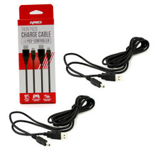 PS3 Twin Pack 9' Controller USB Charge Cable (KMD) KMD-P3-9180
