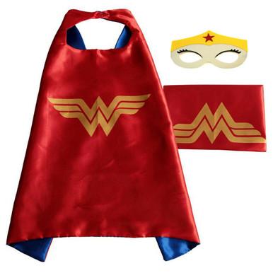 Wonder Woman - DC Universe Costume Cape and Mask Set