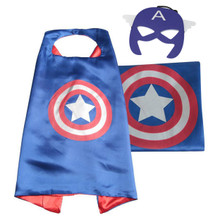 Captain America - Marvel Costume Cape and Mask Set