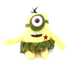 "Star Cheek One Eyed Cave Minion - Despicable Me 8"" Plush"