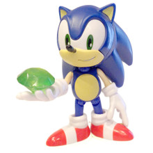 """Sonic with a Chaos Emerald - Sonic the Hedgehog 3.5"""" Figure"""