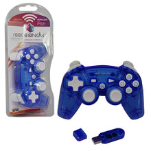 PS3 Wireless Rock Candy Controller - Blue (PDP) PL6460BL