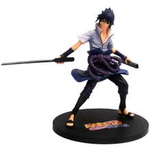 """Sasuke Uchiha - Naruto Shippuden G.E.M. Series 8"""" Action Figure"""