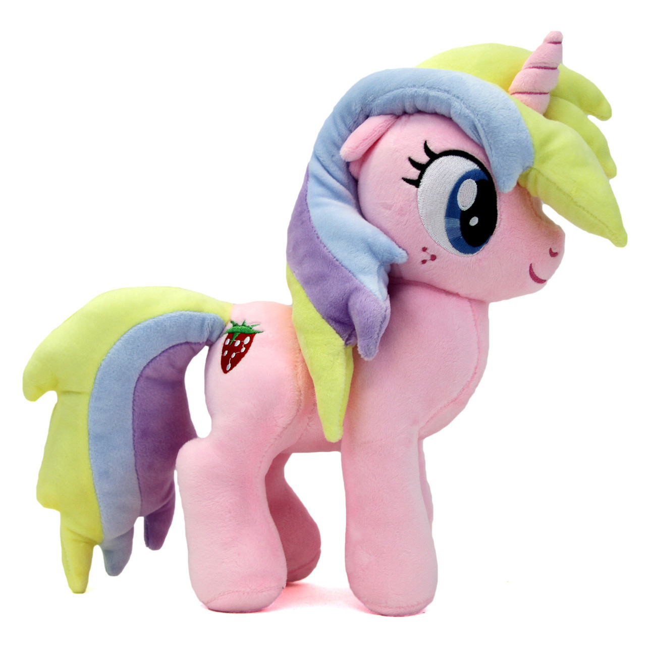 "My Little Pony 12/"" Plush Plushy SITTING RAINBOW DASH Friendship is Magic"