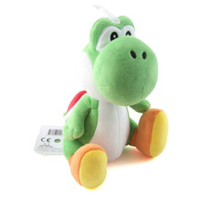 "Green Yoshi - Super Mario Bros 8"" Plush (San-Ei) 1416"
