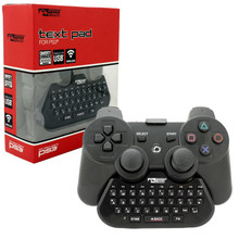 PS3 Text Pad Adapter - Black (KMD) KMD-P3-6157