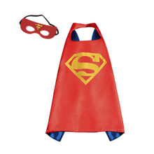 Superman - Red DC Universe Costume Cape and Mask Set