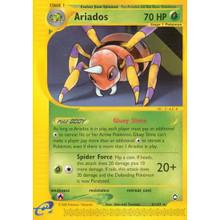 Ariados Aquapolis Reverse Holo 3/147 Pokemon Card (Excellent Cond)